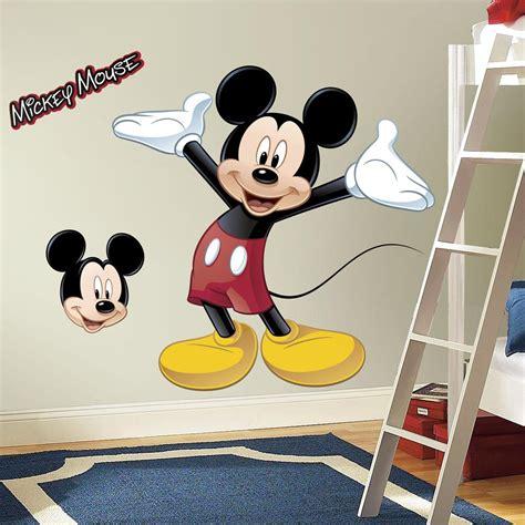 stickers disney chambre b amazon com roommates rmk1508gm mickey mouse peel and