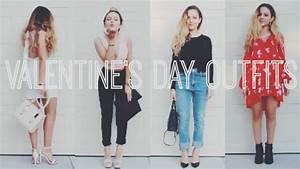 Valentineu0026#39;s Day Outfit Ideas u2665 Nathalie Paris - YouTube