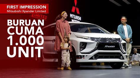 Review Mitsubishi Xpander Limited by Impression Mitsubishi Xpander Limited