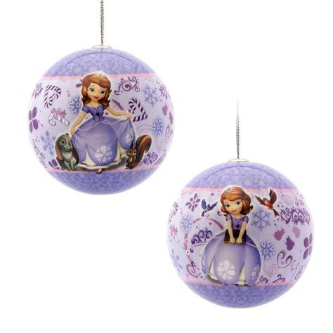 disney hallmark sofia the first decoupage ball christmas
