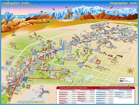 las vegas map  tourist travelsfinderscom