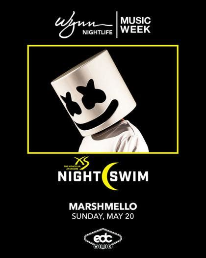 Xs Nightswim Dress Code Marshmello Nightswim At Xs Nightclub On Sunday May 20
