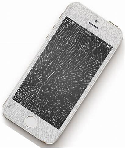 Cracked Iphone Screen Broken 5s Phone 5c