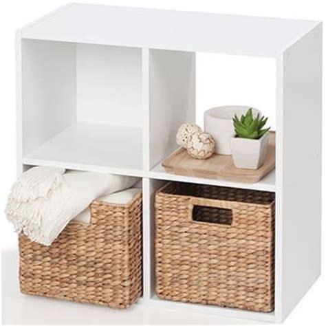 image  homemaker  cube storage unit white  kmart