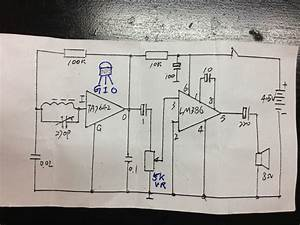 Ta7642 Lm386 Regeneration Radio