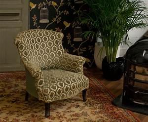 Fauteuil Style Anglais : fauteuil fauteuil anglais ancien chauffeuse napol on ~ Teatrodelosmanantiales.com Idées de Décoration