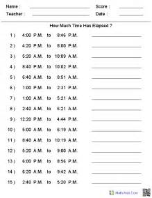 calendar questions worksheet calendar template 2016 - Math Aids Elapsed Time