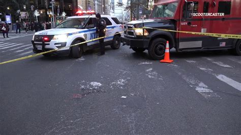 Elderly woman in critical condition after being hit by ...