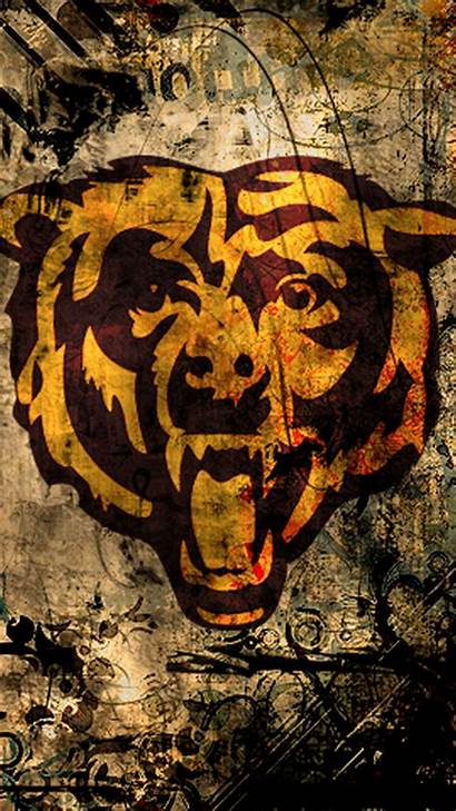 Bears Chicago Iphone Wallpapers Smartphone Team Football
