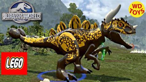 Jurassic World Lego Game Hybrid Indominus Rex Custom Dino ...