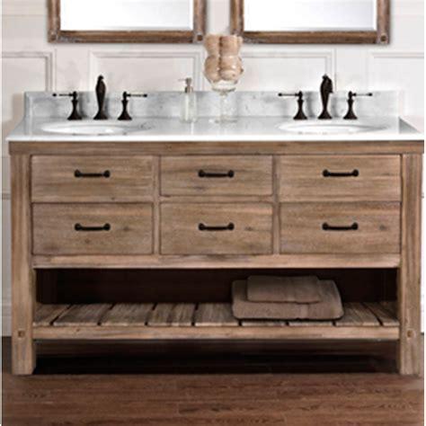 fairmont designs bathroom vanity fairmont designs napa 60 quot bowl open shelf vanity