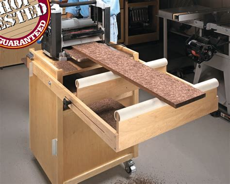 mobile planer stand planer cart   woodworking