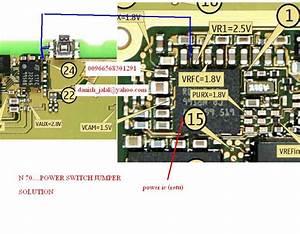 Nokia N70  N72 Power Switch  On  Off  Ways