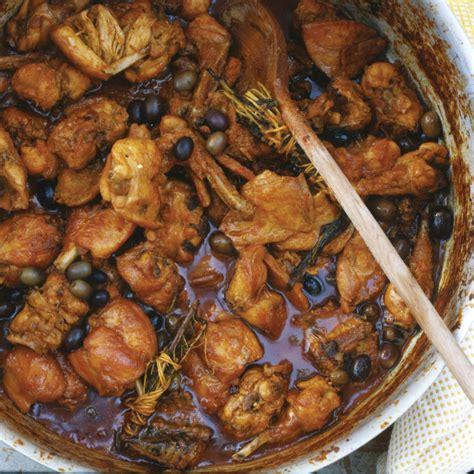 rabbit stew  olives  rosemary recipe marco canora