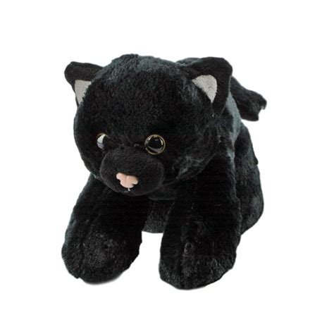 hugemsblack cat hugems stuffed animalsoft plush toy