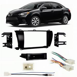 Fits Toyota Corolla 2014 Multi Din Aftermarket Harness
