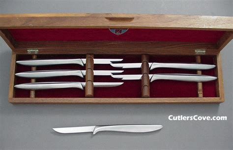 Gerber Kitchen Knives by Gerber Miming Chrome Set Of Six That Is Mint In The Box