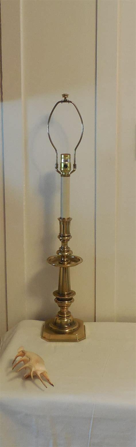 stiffel brass candlestick l stiffel brass table l 30 vintage stiffel candlestick