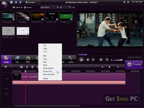 Entertainment Wondershare Video Editor Free Download To