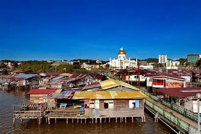 Brunei Tourisme Capital Capitale Reizen Naar Mosque