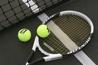 Tennis Ball Racquet Sports Background Wallpapers Wall