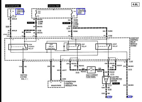 2004 Mustang Gt Radiator Fan Wiring Diagram by Where Is The Fan Relay Located For A 2000 Mustang Gt Well I