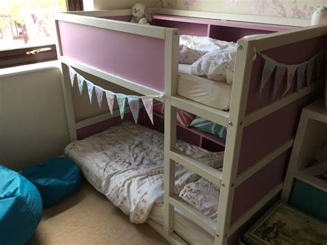 toddler bunk bed resized  kura loft bed ikea hackers