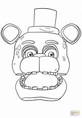 Freddy Coloring Pages Golden Fnaf Printable Print Getcolorings Unique sketch template