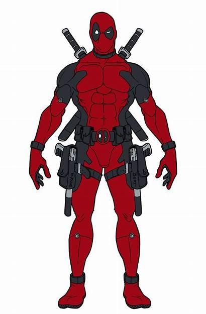 Deadpool Drawing Cartoon Marvel Spiderman Spider Clipart