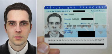french artist   received  national id card