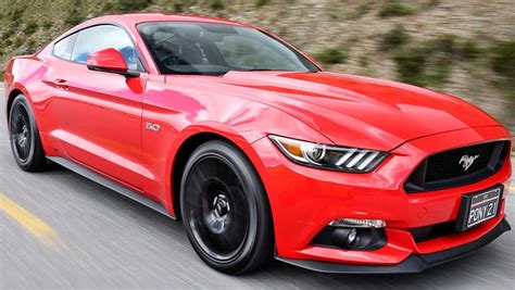 mustang v8 coolest ford mustang v8 gt coupe 2016 review carsguide