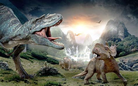 caminando entre dinosaurios fondo de pantalla id