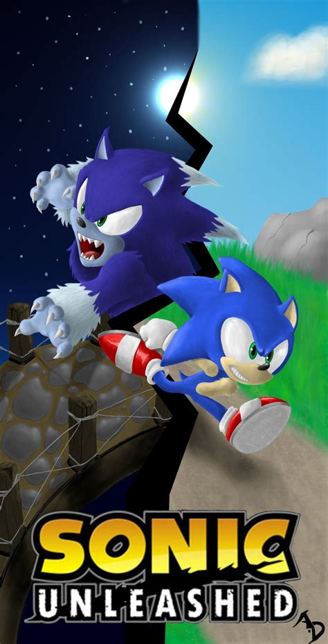 sonic unleashed fan game sonic unleashed by absolutedream on deviantart