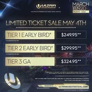 Ultra Music Festival Lowers Ticket Prices For 2016 Your EDM