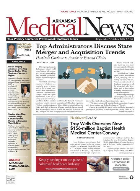 september october  arkansas medical news  medical