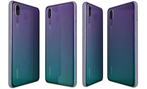 Huawei p20 colors 3D - TurboSquid 1277557