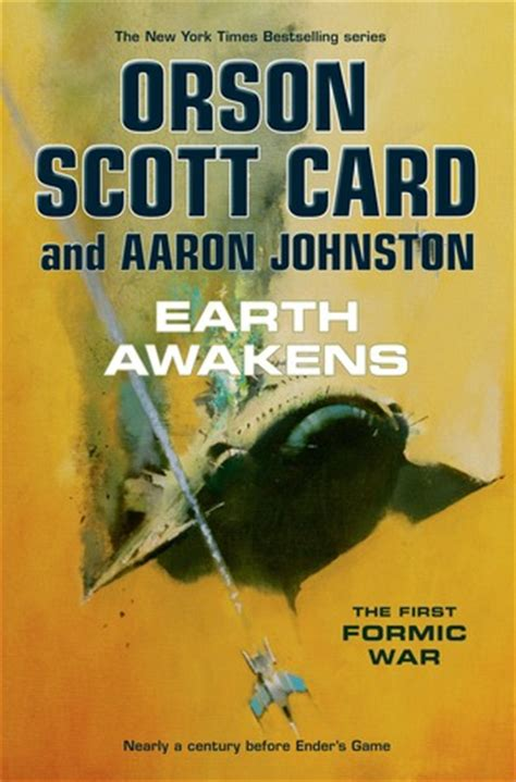 Earth Awakens (the First Formic War, #3) By Orson Scott