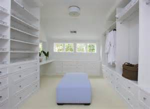 walk in closet with vanity transitional closet