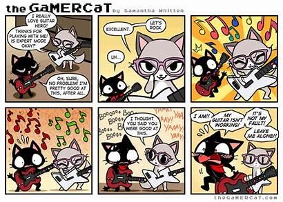 Gamercat Guitar Hero Zero Comic Thegamercat Fr
