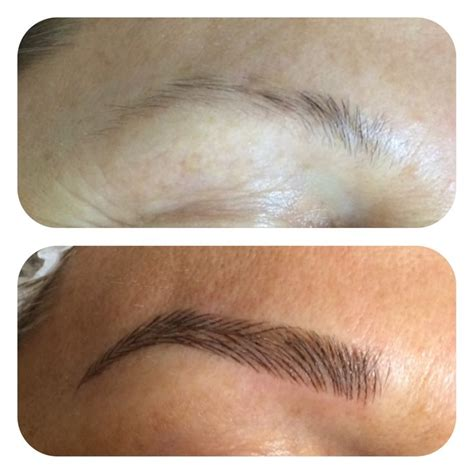 Weniger Tief by Microblading Twinkle Brow Bar Wenn Microblading Weniger