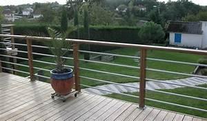Garde De Corps Terrasse : chantier d 39 une terrasse olea paysages ~ Melissatoandfro.com Idées de Décoration