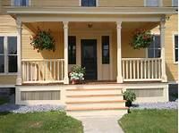 front porch plans Front House Porches Designs - Architectural Designs