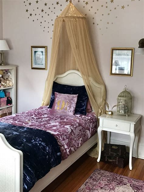 girls magical harry potter bedroom fit  hermione