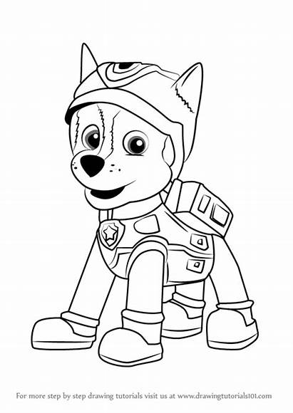 Paw Patrol Chase Spy Super Draw Step