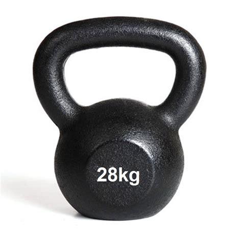 kettlebell 28kg cast kettlebells iron