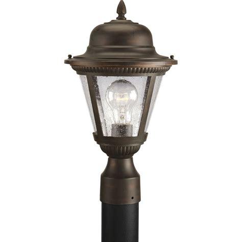 progress lighting p5445 20 outdoor post mount fixture