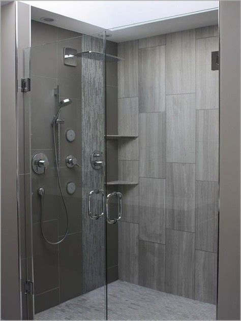 Best 25  Vertical shower tile ideas on Pinterest   Grey
