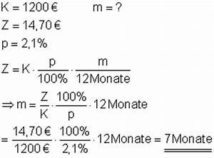 Zinsen Berechnen Tage Formel : zinsrechnung mathe brinkmann ~ Themetempest.com Abrechnung