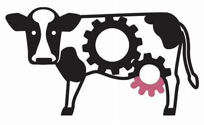 Factory Clipart Cow Farming Farm Producer Clip
