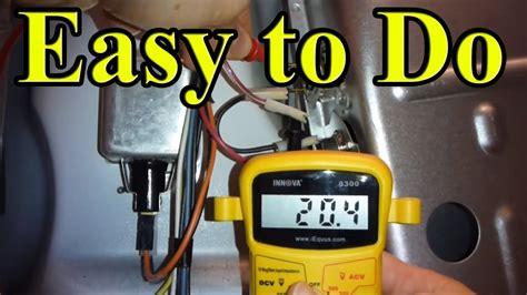 fix  gas dryer    heating  part
